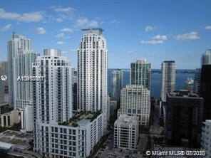 Fully furnished 1 bed 1 bath on prestigious Brickell Avenue.  This condo has a pool, gym, and wine room. This is a corner unit, it is fully furnished and has a huge closet. 1st, last and security required. No pets allowed. DirecTV and 1 assigned parking spot included in the rent. 24 hr required for showings.