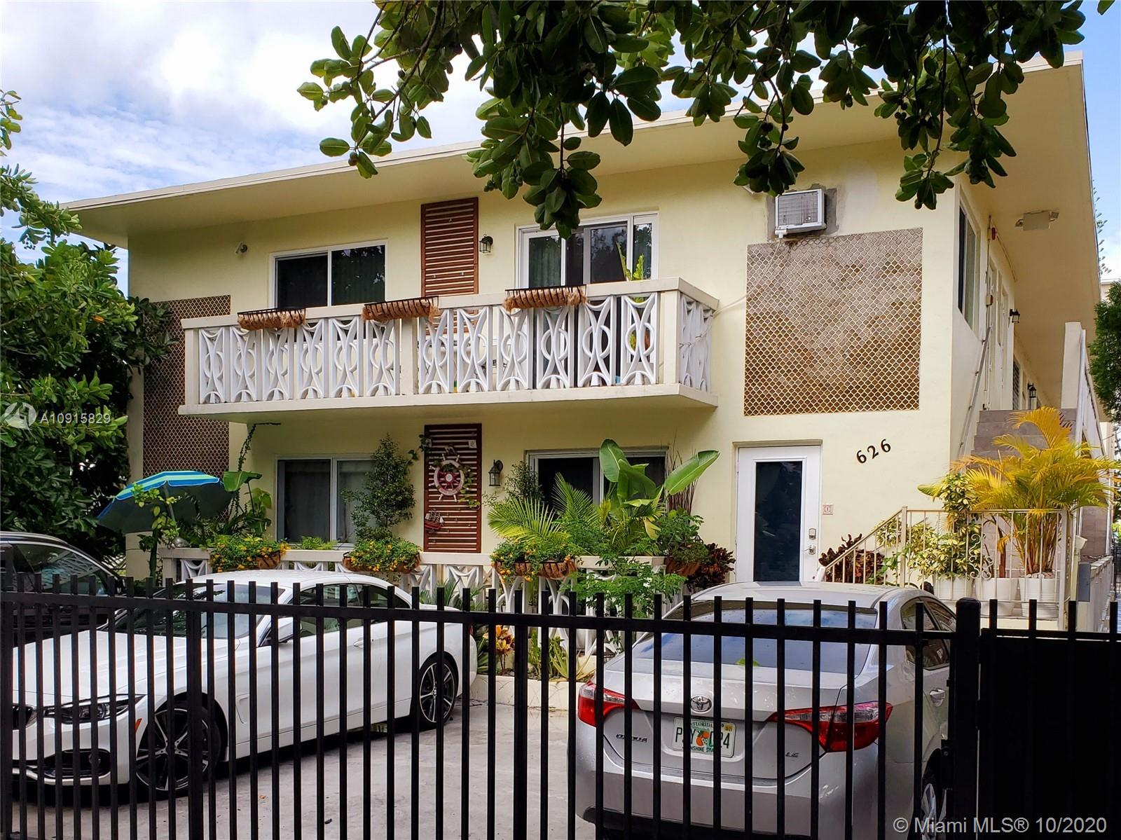 626  Meridian Ave #4 For Sale A10915829, FL