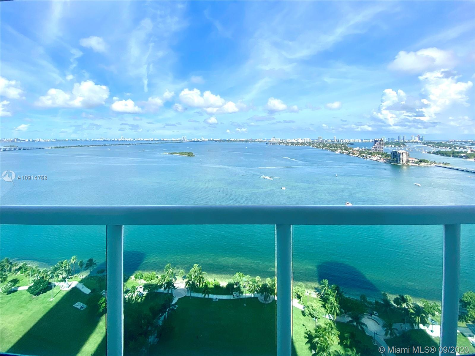 Discover an unrivaled location, complete with spacious accommodations and state-of-the-art amenities at this luxury condo, situated right on Biscayne Bay. 1800 Club is a 40-story high-rise conveniently located within a short distance from Downtown Miami's world-renowned restaurants, American Airlines Arena, Adrienne Arsht Center for the Performing Arts, Marlins Park, the Design District, Miami International Airport, and the sizzling nightlife of South Beach. This home at 1800 Club features panoramic views of the Bay, South Beach skyline and the Atlantic Ocean. Building amenities include multiple pools, fitness center with spa/sauna/steam room, 24/7 security, valet parking and concierge services. Beautifully finished 2 bedrooms unit for rent, easy to view, vacant. Call now!!!
