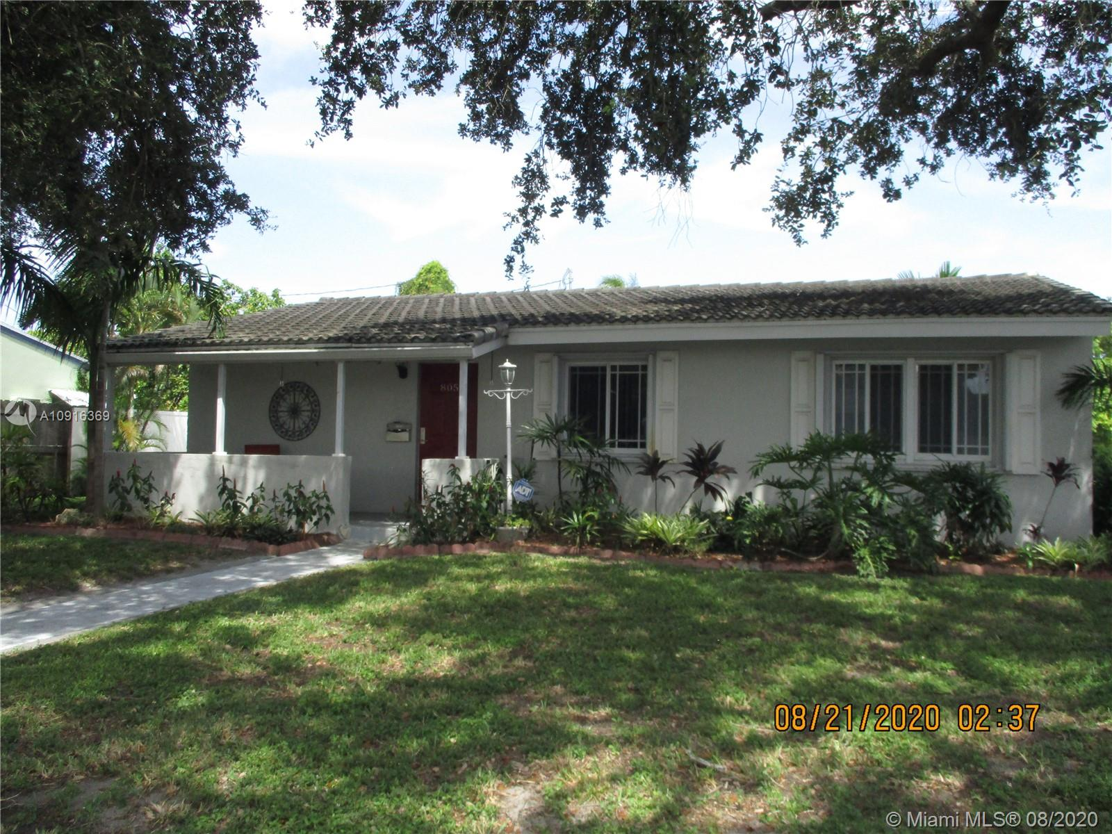 805 N 20th Ct  For Sale A10916369, FL