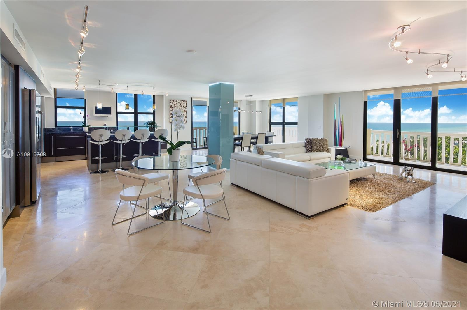 9801  Collins Ave #11B Direct Ocean For Sale A10916709, FL