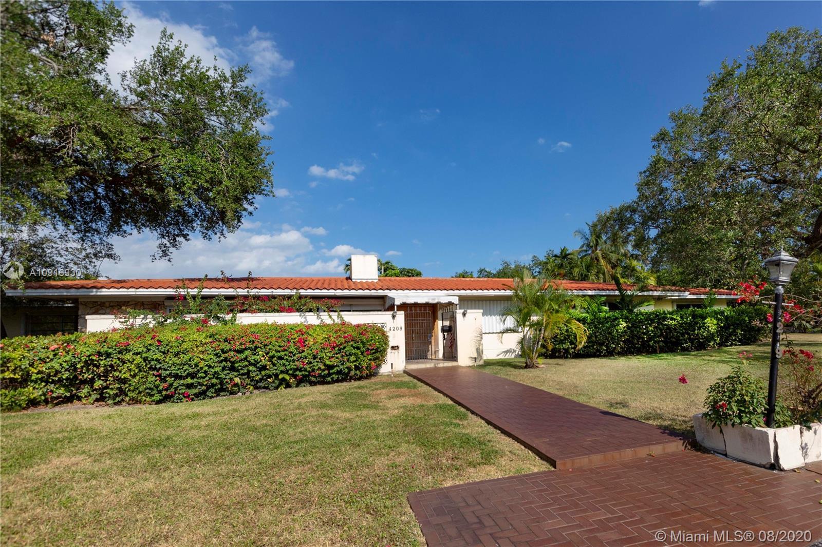 4209  Granada Blvd  For Sale A10916930, FL