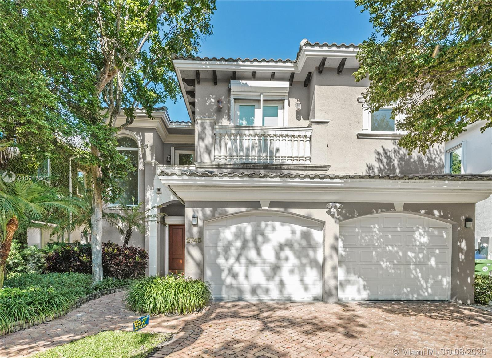 Enjoy a fabulous lifestyle, location and design in this 2002 built home. Situated inside gated Villas of Vizcaya, a prestigious community of only 13 homes. Two Story 5 bed/5.5 bath home with Contemporary finishes, high ceilings and granite flooring. Large master suite with 2 walk-in closets and bright master bathroom. Grand rooms for comfortable living and entertainment overlooking private pool and patio. 2 Car Garage. Hurricane protection including shutters and impact windows. Generator. Located in a beautiful cul-de-sac road with little traffic, police patrol and just steps to Alice Wainright Park directly on Biscayne Bay. Easy access to I95 and all the excitement in Brickell, Downtown Miami, Key Biscayne, Coconut Grove and More!