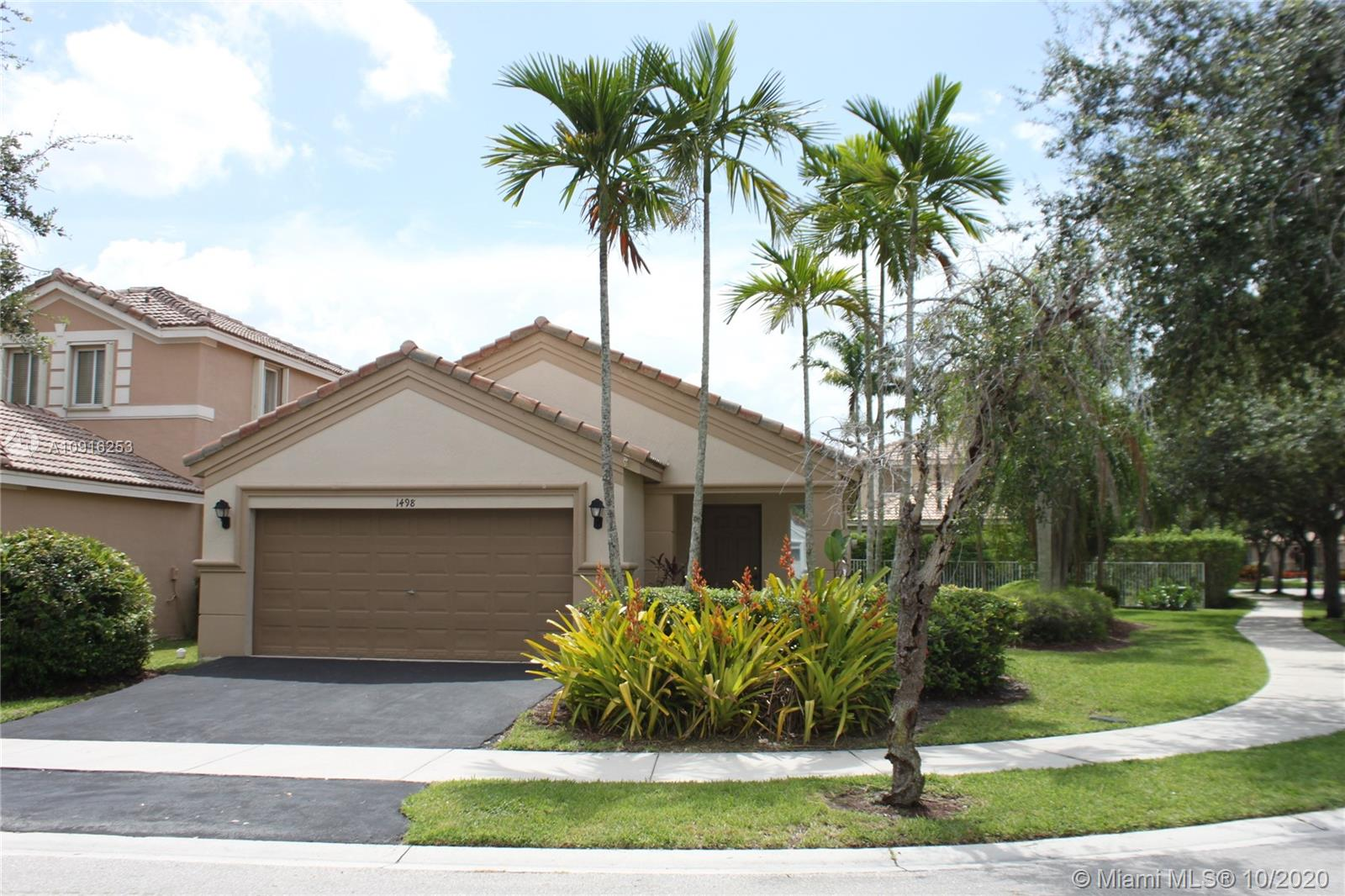 1498  Sunset Way  For Sale A10916253, FL