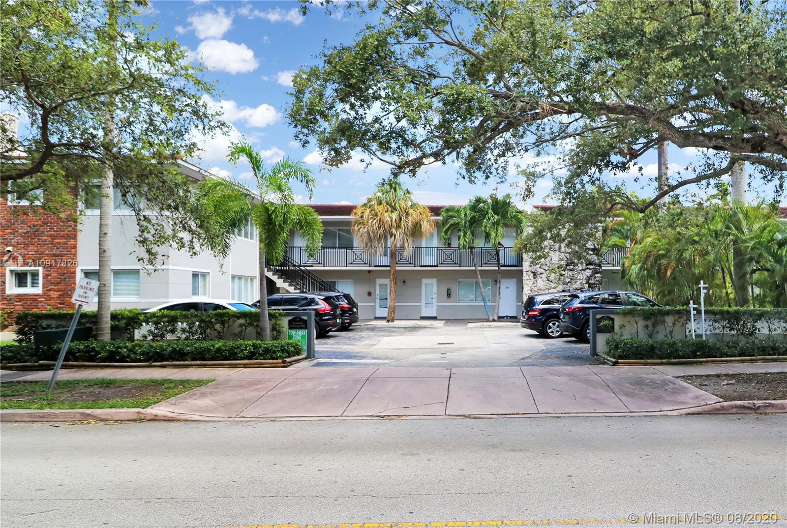 Don't miss out on this updated two bedrooms/one bath condo in desirable tree-lined Edgewater Dr! Well maintained community with unit located on the first with views of the pool area. Renovated kitchen and bath, hurricane shutters, crown molding, and beautiful tile floors throughout. Walking distance to Coconut Grove parks, restaurants, and shops. Close to US1, University of Miami, and downtown Coral Gables. A must see to appreciate.