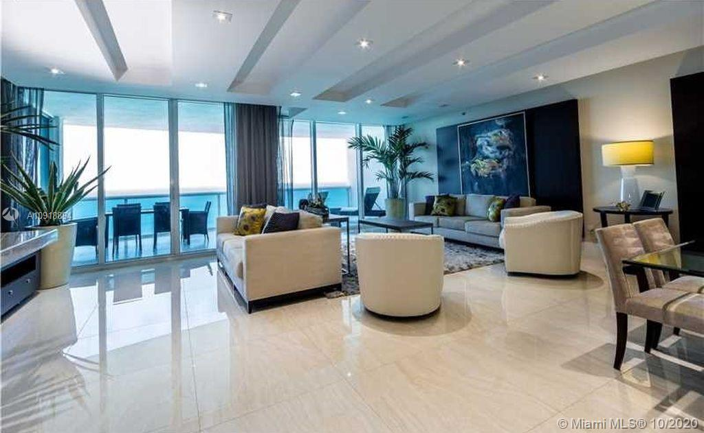 Trump Hollywood spectacular 3 bedrooms and 3. 5 bathrooms with direct ocean view and intracoastal view. 