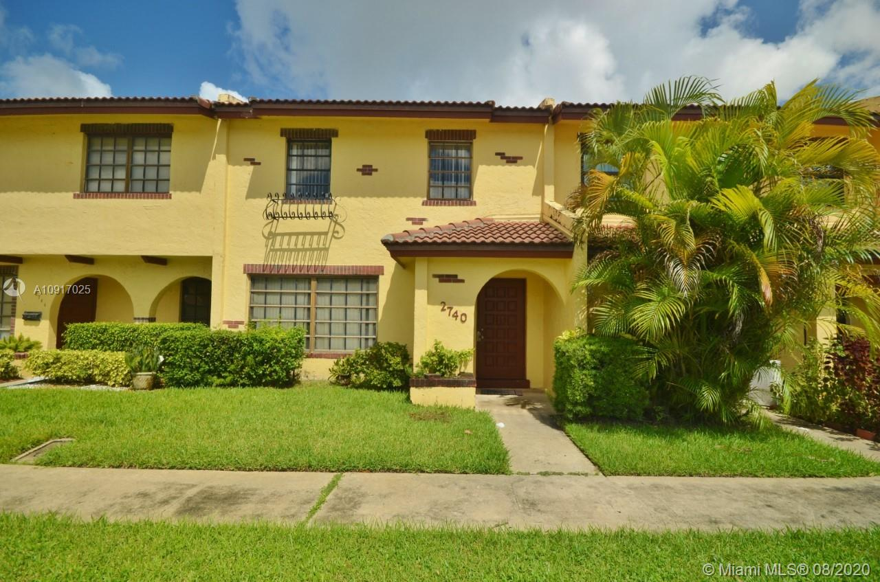 Tastefully upgraded 3 bedrooms 2.5 bathrooms townhome awaits that new homeowner. Features tiles/laminate throughout, open floor concept, screened patio and washer/dryer. This community is located in a highly sought after area in Lauderdale lakes with a close proximity to parks, schools, hospital, and restaurants. Bring all offers!