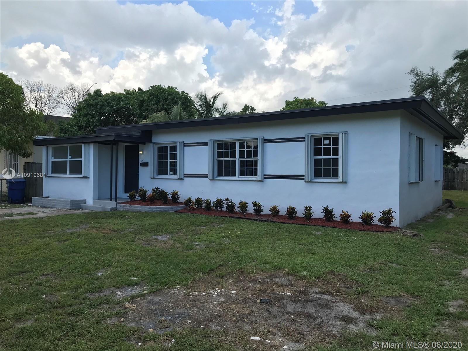 597 NW 110th St  For Sale A10919681, FL