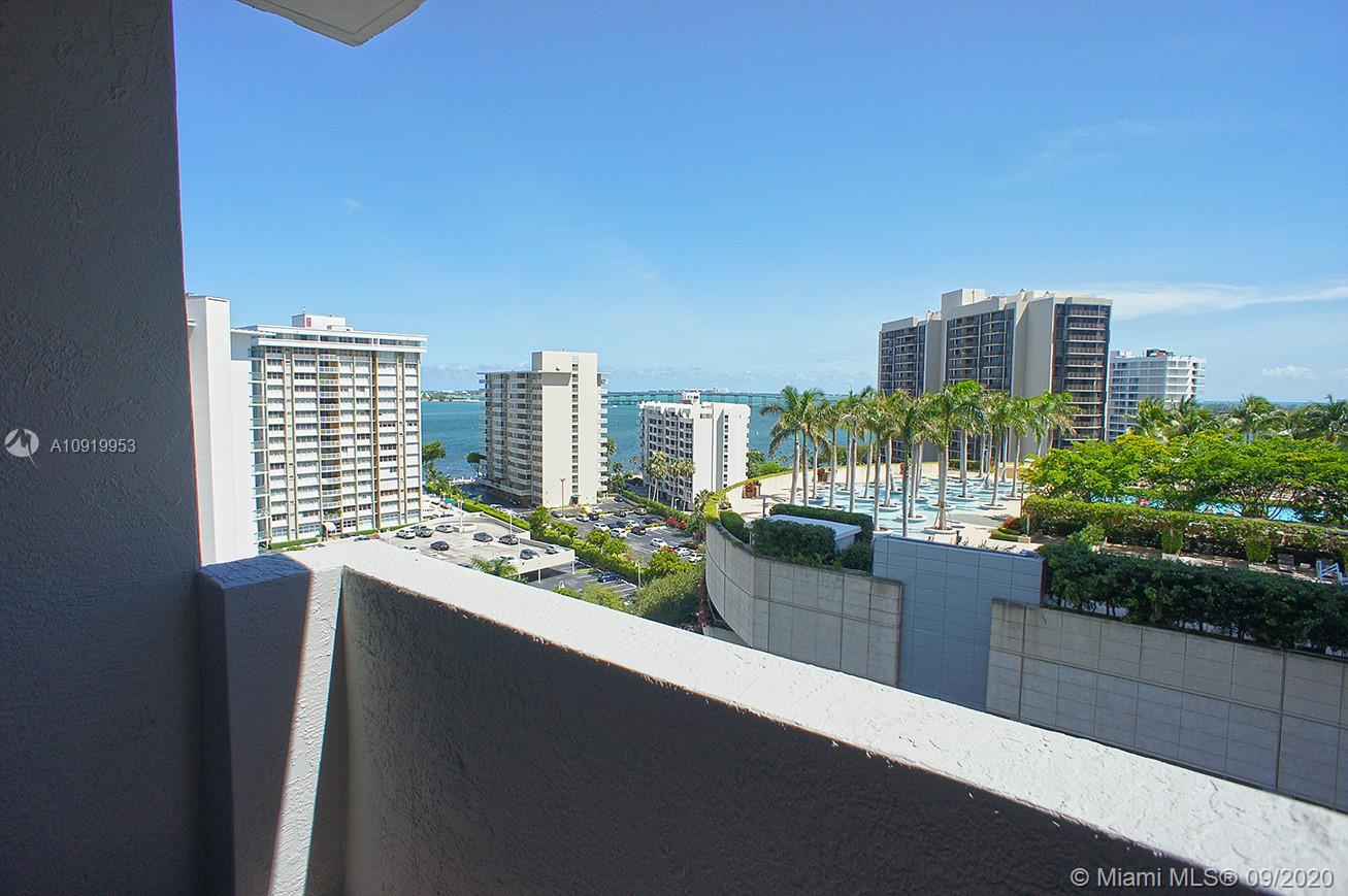 LIVE IN THE BEST AREA OF BRICKELL 2 BED 2 BATH COMPLETELY FURNISHED, PARTIAL BAY VIEW.   FORTUNE HOUSE HAS RESTAURANT/BAR LOCATED AT LOBBY, 24 SECURITY, HEATED POOL, SAUNA, STEAM ROOM, FULLY EQUIPPED GYM, AND ON-SITE PROPERTY MANAGEMENT. WALK TO SHOPS, RESTAURANTS, PUBLIC TRANSPORTATION.  METRO MOVER STEPS AWAY THE STREET.