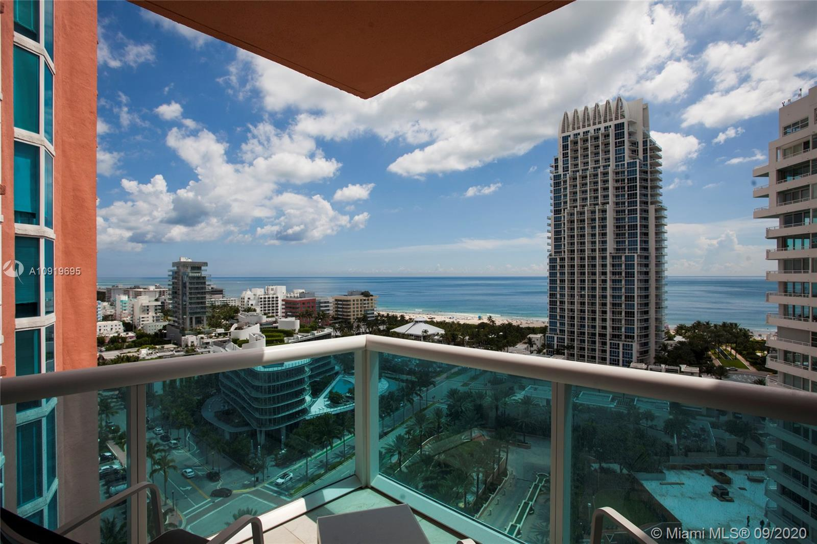 300 S Pointe Dr #1802 For Sale A10919695, FL