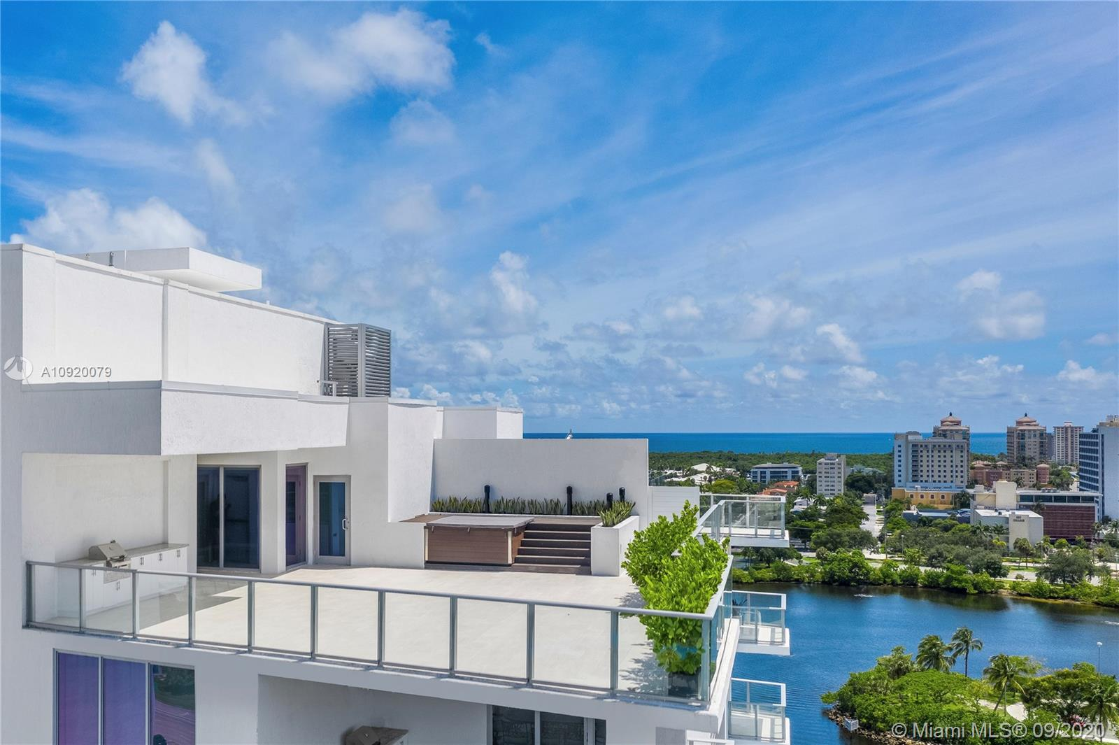 One of Fort Lauderdale's Most Spectacular Penthouses Now Complete & Move-In Ready | 7,200+ Total Sq Ft on 2 Levels | Ocean, Intracoastal, Skyline & Sunset Views | Wolf & Sub-Zero Appliances with Italian Cabinetry | 4x4 Porcelain Tiles Throughout | Jacuzzi & Summer Kitchen on Massive, Private Terrace Overlooking Downtown | Private 2 Car Garage, Boat Slip, 2 Large Storage Lockers, Golf & Kayak Storage ALL INCLUDED | RIVA: 40,000 SF of Amenities including Pool & Lounge, 7,000 SF Gym with Fitness Studio, Resort Style Spa with Sauna, Steam & Massage Rooms, Residence Lounge, Sunset Deck with Jacuzzi, Cucina to Entertain, 24/7 Front Desk Attendant, Valet, 2 Dog Walks, 400 Feet of Waterfront, Boat Slips & Central Location.  Speak with the On-Site Sales Team to Tour Both Available Penthouses.