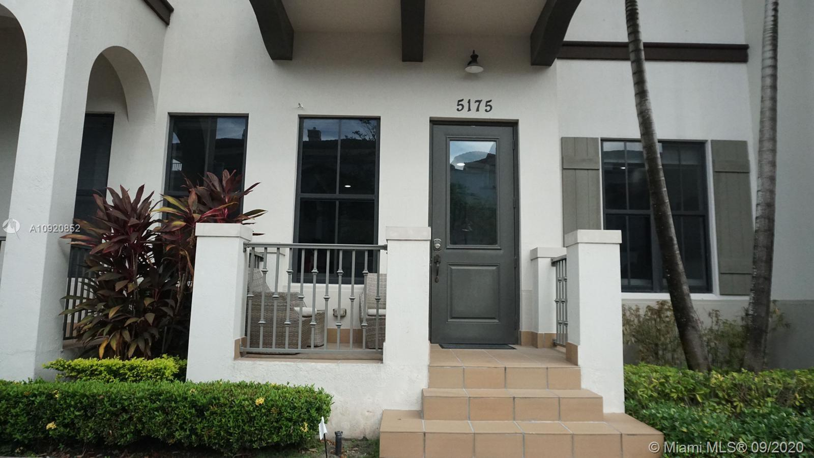 Spectacular 2-story townhome located in exclusive Downtown Doral. This unit features 3 bedrooms, 2.5 bathrooms, beautiful laminate waterproof  floors downstairs & upstairs. Open and modern kitchen with granite countertops and top of the line appliances. Impact windows and doors, 2 car garage, huge laundry room, modern and more. Neighborhood features gorgeous club house and pool, A+ rated schools, lots of recreational areas for kids and family, restaurants, supermarkets, etc. Call us today and arrange an appointment!