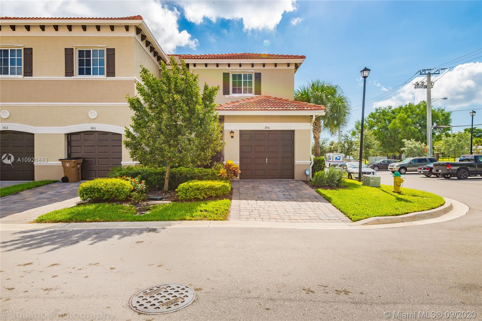 AMAZING CORNER UNIT! HOA ONLY $150,00 per month. ---- NEW CONSTRUCTION TOWNHOUSE 3 bedrooms, 2 ½ baths with 1 car garage, located in the beautiful Village Park community ONLY 1.6 miles from the BEACH. Open concept modern kitchen with plenty of modern white Shaker cabinetry, neutral granite counters, and stainless steel appliances. Open floor plan is finished in tile wood grain style floorings downstairs and wood floorings upstairs. Huge MASTER BEDROOMS with 2 walking closets. Enjoy all the South Florida lifestyle has to offer in Deerfield Beach. Minutes from the beach and Intracoastal waterways Village Park offers low monthly HOA fees and neighbors Brunhilda Richardson-Knowles Memorial Park. EASY TO SHOW!