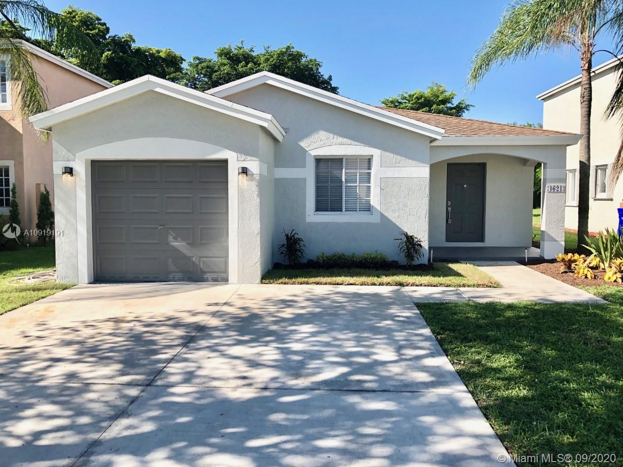 """Magnificent Fully updated 3/2 ranch style home in the highly desired Waterways community. No Expense was spared...New 24"""" porcelain tile throughout. Water proof flooring in all rooms, Brand NEW AC, Beautifully designed kitchen w/ New Stainless steel appliances, New LED lighting & fixtures throughout. Fully updated bathrooms with new cabinetry hardware and quartz tops. New ceiling fans and hardware throughout home. Tastefully painted inside and outl....be the first to enjoy this turn key home!"""
