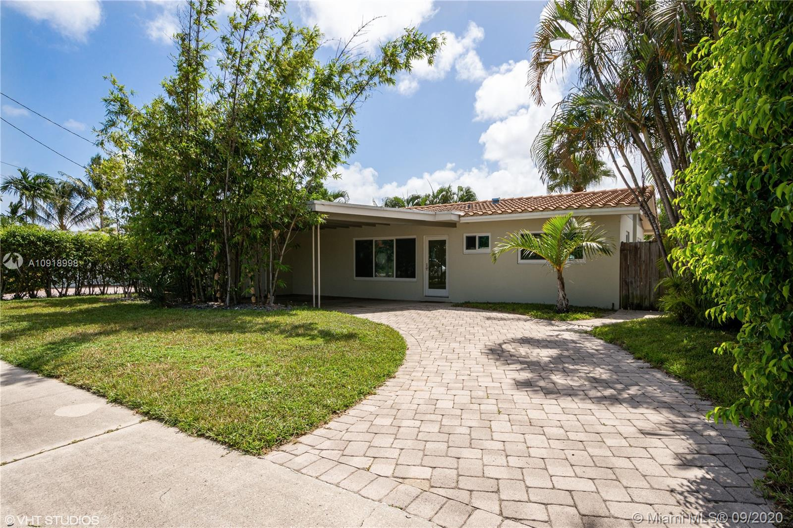 Unique opportunity to own this decorator ready house with pool and dock in Malelauca Gardens, Dania Beach. Choose and install your own kitchen, baths, and floors.  Easy access to the ocean.  Boating enthusiast bring your boat!This house has new soundproof, hurricane impact windows and doors, air-conditioning, air handler, ducting and insulation, barrel tile roof, upgraded electrical, and recessed lighting recently installed throughout.  Just 4 miles to the beach and just a few steps to the Greenbelt Park with a walking trail, and grassy area for picnics.   Dania Pointe shopping center is nearby.  Excellent dining and entertainment on Las Olas and Hard Rock Hotel and Casino in Hollywood is only a few minutes away.  Easy to show.  Please text me or call me.