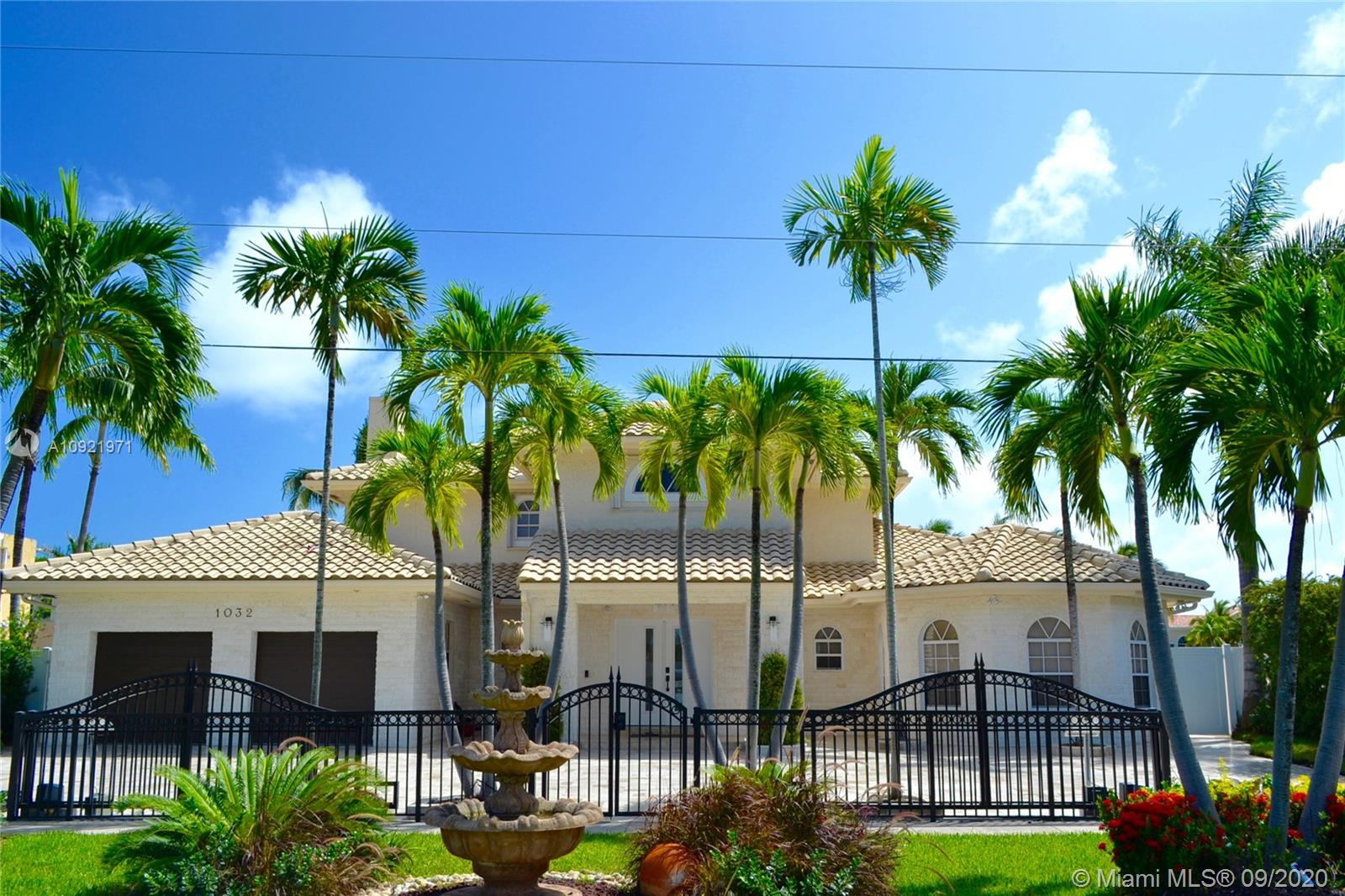 Amazing opportunity to own a completely remodeled home in the Heart of Hollywood Fl. Access to the Ocean and just minutes from major Airports, Fort Lauderdale, Aventura Mall, Bal Harbourl and much more. The home is tastefully finished with custom  Kitchen, Italian Ceramic and White Oak Floors. All Bathrooms are finished with the best materials in the industry. The home is move in ready with an oversized dock for a boat.