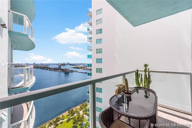 Located in front of Margaret Pace Park and with sweeping views of the bay, this high-floor 1BD/1BA is the best line in the building! Features an open kitchen with modern appliances. East-facing balcony opens to stunning panoramic views of Miami Beach. In 2018, Owner professionally installed a new central air conditioning unit and stacked washer/dryer. Expansive windows allow for generous natural light. Valet Parking, 1 assigned parking space in secured garage, multi-media room, gym and spa facing Biscayne Bay, sunrise and sunset pools. Minutes from cultural arts, luxury shopping, Design District, South Beach. Easy access to airports. Enjoy your new life in the urban oasis that is Quantum on the Bay!