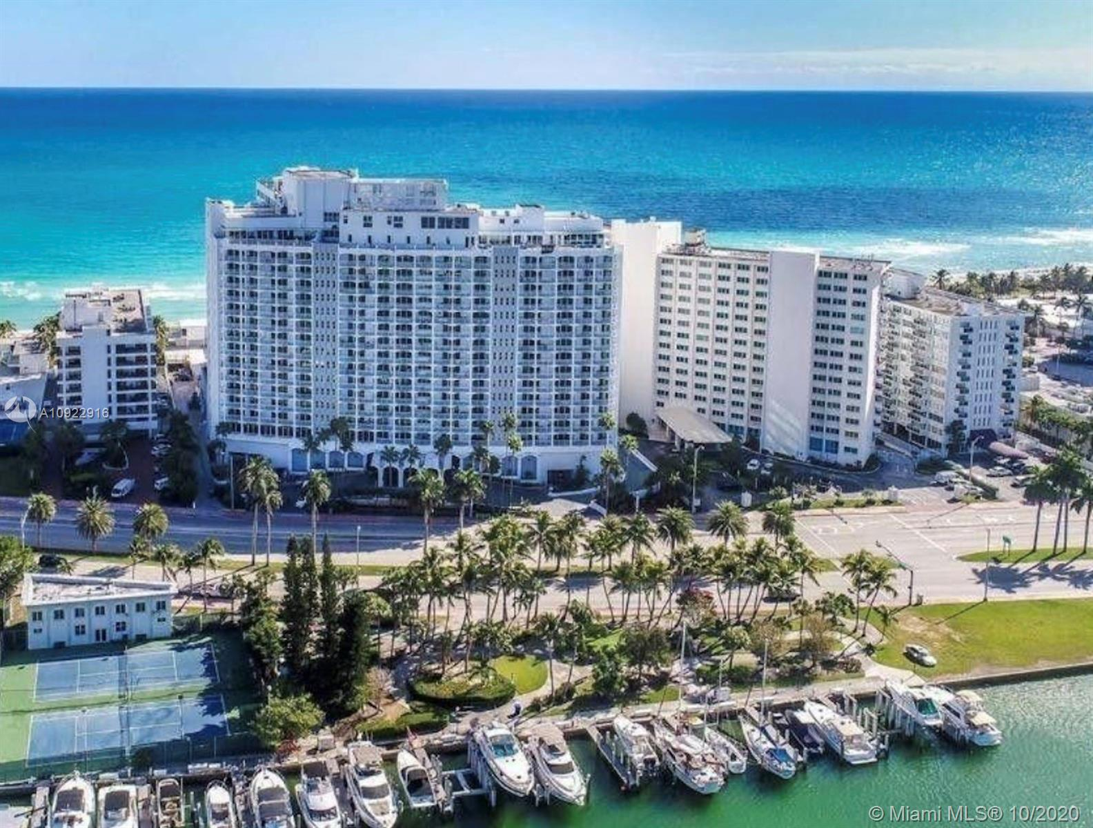 5401  Collins Ave #1416 For Sale A10922916, FL