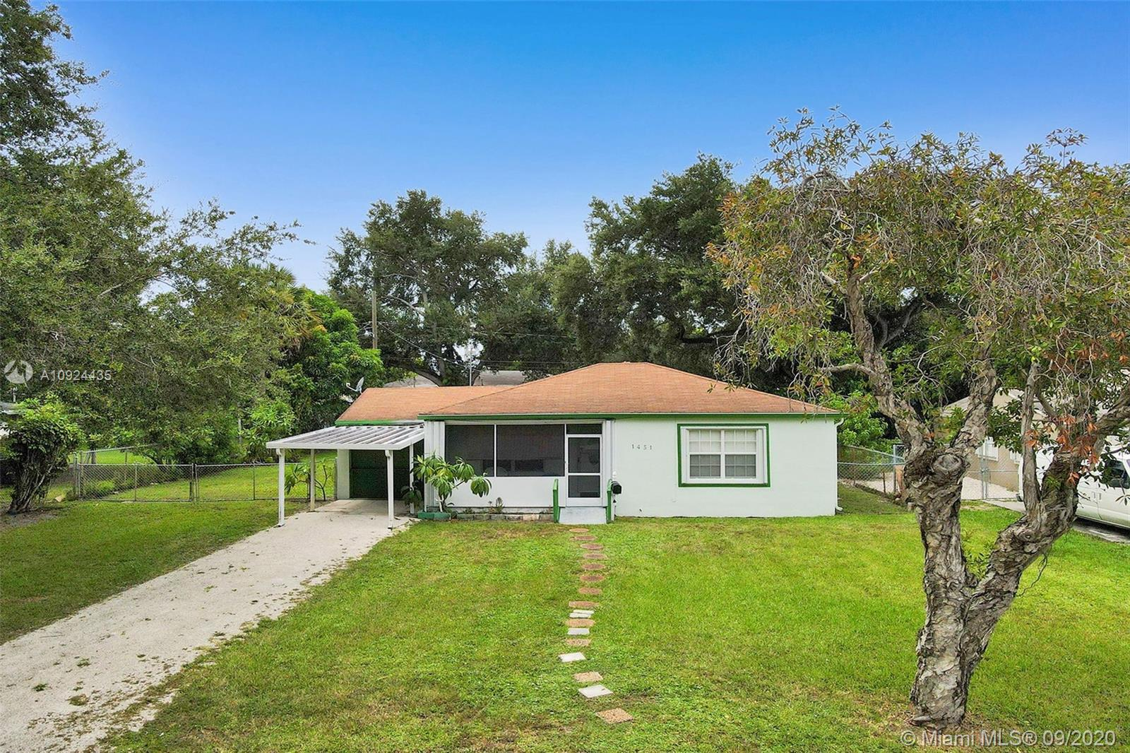 1451 NE 133rd Rd  For Sale A10924435, FL