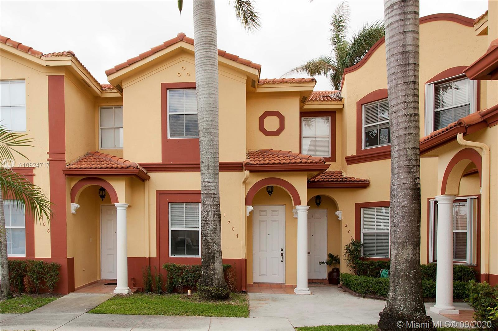 Cozy and comfortable townhouse in desirable Doral. Unit has Washer and Dryer in Unit. Tile throughout first floor and wooden floor throughout second floor. Small Fenced Patio. One (1) Parking Space. Costa Linda is a well maintained gated community with a lovely pool area. Close to all major shopping and dining areas. No Pets Allowed as per the HOA.Please click on showing assist or call/text listing agent within 24 hours notice. TENANT OCCUPIED until Oct 5.