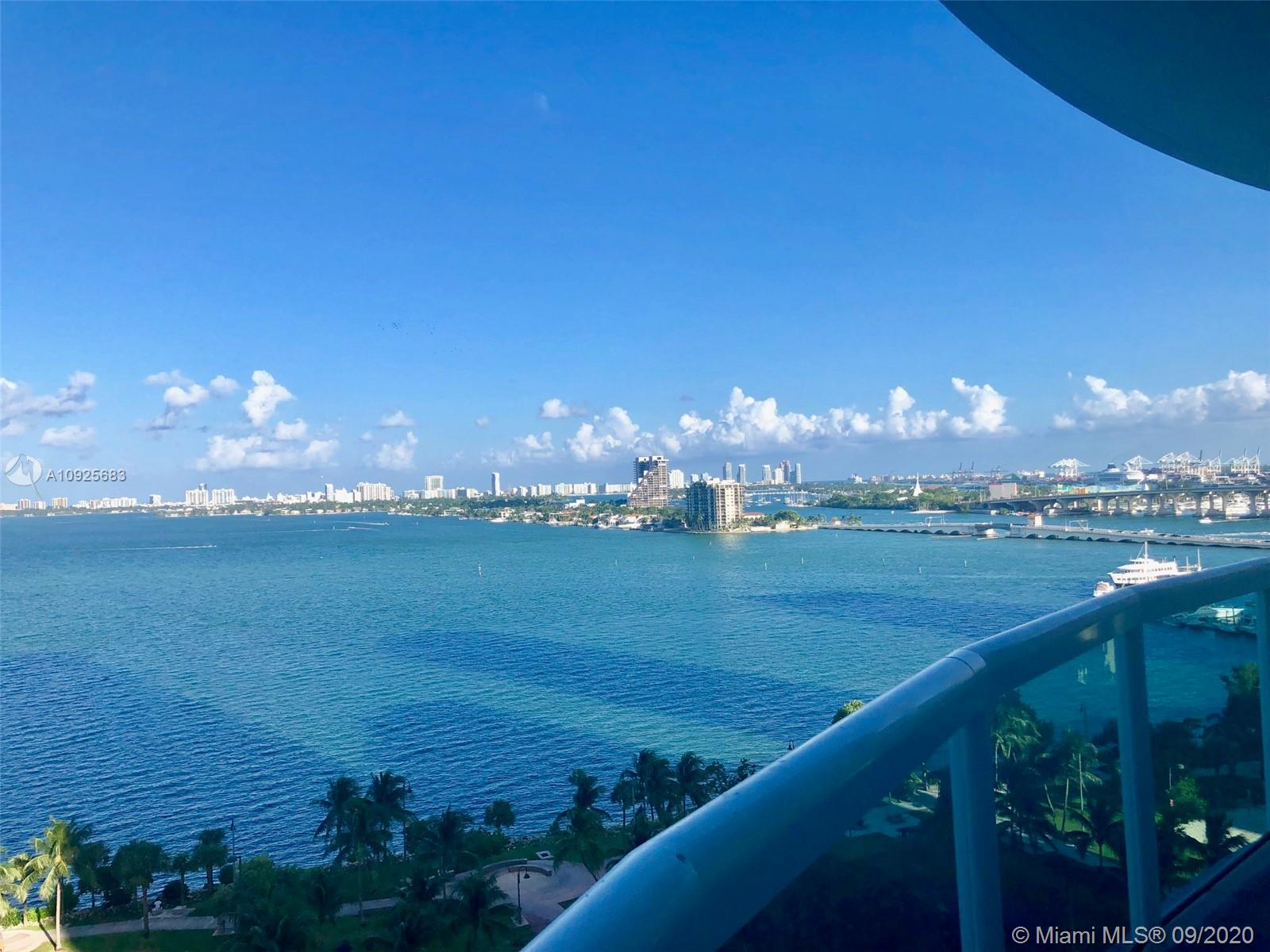 COME LIVE IN EDGEWATER WITH THE BEST VIEWS!SPECTACULAR 3/3(W2189 SQFT OF AC + 638 SQFT IN TERRACES)IN THE 1800 CLUB. DIRECT EAST VIEWS OF THE BISCAYNE BAY & OCEAN.UNIT FEELS LIKE A HOUSE W/EVERYTHING SPACIOUS & GREAT FLOOR PLAN!BOTH MASTER BEDROOM & SECOND BEDROOM ARE EN SUITES.FULL AMENITIES BUILDING INCLUDING VALET,DOORMAN,CONCIRGE,POLL & GYM ATTENDANT,IN_HOUSE MANAGEMENT,SPECTACULAR POOL AREA, STATE-OF-THE-ART GYM ......CABLE,HIGH SPEED INTERNET & WATER INCLUDED IN LOW HOA. WALK TO MARGARET PACE PARK,NIGHTLIFE, BANKS, SHOPS & PUBLIX & 3 BLOCKS TO PEOPLE MOVER. 5 MINUTES TO SOUTH BEACH, DOWNTOWN MIAMI, THE DESIGN DISTRICT, MIDTOWN & WYNWOOD.EASY ACCESS TO ALL MAJOR HIGHWAYS & PUBLIC TRANSPOTATION.EASY TO SHOW.