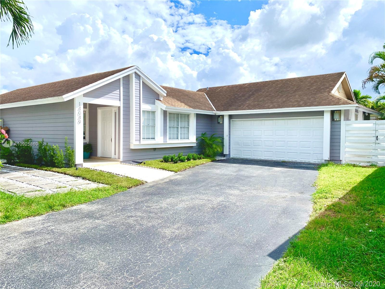 14049 SW 103rd Ter  For Sale A10925869, FL