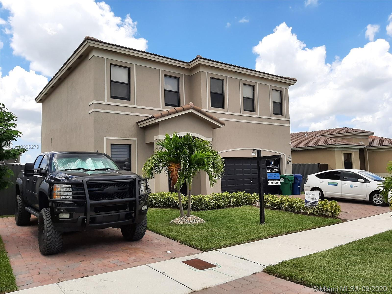 4/3.5 AMAZING HOME. 2017 NEW CONSTRUCION. THIS PROPERTY OFFERS MANY EXTRAS, LIKE IMPACT WINDOWS, PORCELAIN FLOORS, STAINLESS STEEL APPLIANCES, GRANITE KITCHEN TOP, WITH UPGRADED WOOD CABINETS, OVERSIZE LOT. CLOSE TO SHOPPING CENTERS, RESTAURANTS, MARKETS, AND CONVENIENT QUICK ACCESS TO THE TURNPIKE. OWNERS MOTIVATED, PROPERTY SHOWS VERY WELL.