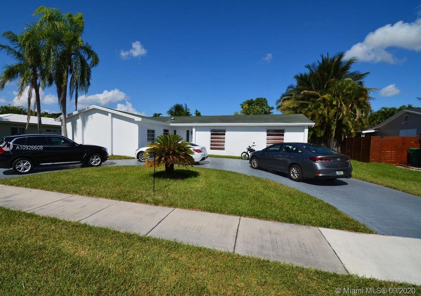 BEAUTIFUL 4 BEDROOM 2 BATH HOME IS AN EXCELLENT CENTRAL KENDALL AREA. QUIET NEIGHBORHOOD AND STREET, ELEMENTARY SCHOOL IS A WALKING DISTANCE. HOUSE HAS BEEN REPAINTED INSIDE AND OUT, AND IS READY TO A FAMILY TO MOVE IN AND ENJOY. CONVERTED GARAGE INTO AN OFFICE/BEDROOM AND SEPARATE LAUNDRY ROOM. ALL BEDROOMS HAVE WOOD FLOORS. NEW A/C. TERRACE HAS PLENTY OF SITTING/ENTERTAINING SPACE, LARGE POOL AND AN AMPLE YARD WITH A STORAGE SHED ON ONE SIDE. VERY CLOSE TO TURNPIKE, KENDALL DR. US1, AND MD COLLEGE AS WELL. POOL MAINTENANCE IS INCLUDE WITH THE RENT. TENANT OCCUPIED. AVAILABLE JANUARY 8TH. ALL AGENT MUST ACCOMPANY TENANTS TO SEE THE PROPERTY.