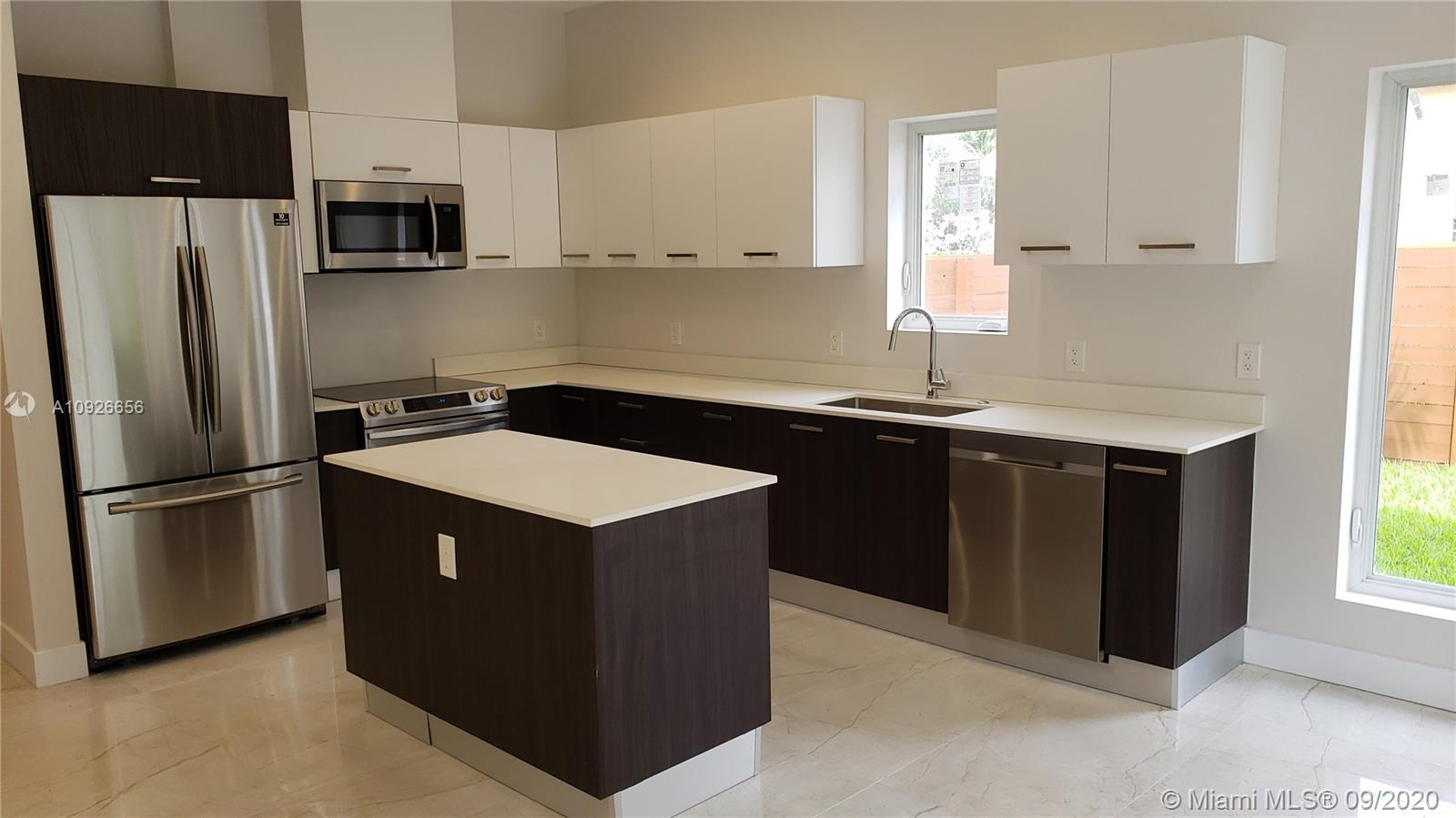 Looking for a brand new contemporary townhouse at an affordable price in a prime Oakland Park location? Check out 43 East, an exciting new enclave of 8 contemporary town homes. 43 East is on a quiet side street but close to outdoor parks, tennis courts, G21 Fitness, Funky Buddha Brewery & The Oakland Park Culinary District. You will be impressed with the clean urban design, coastal-inspired finishes and thoughtfully designed floor plan. Each model is a corner unit & features 10 ft ceilings, modern glass banisters, impact windows, full laundry room with oversized washer & dryer, 2-car garage & private fenced yards. The kitchen boasts European cabinets, stainless steel upgraded appliances & a center island. Master w/his & her walk in closets, dble sinks & frameless shower. Don't miss it!