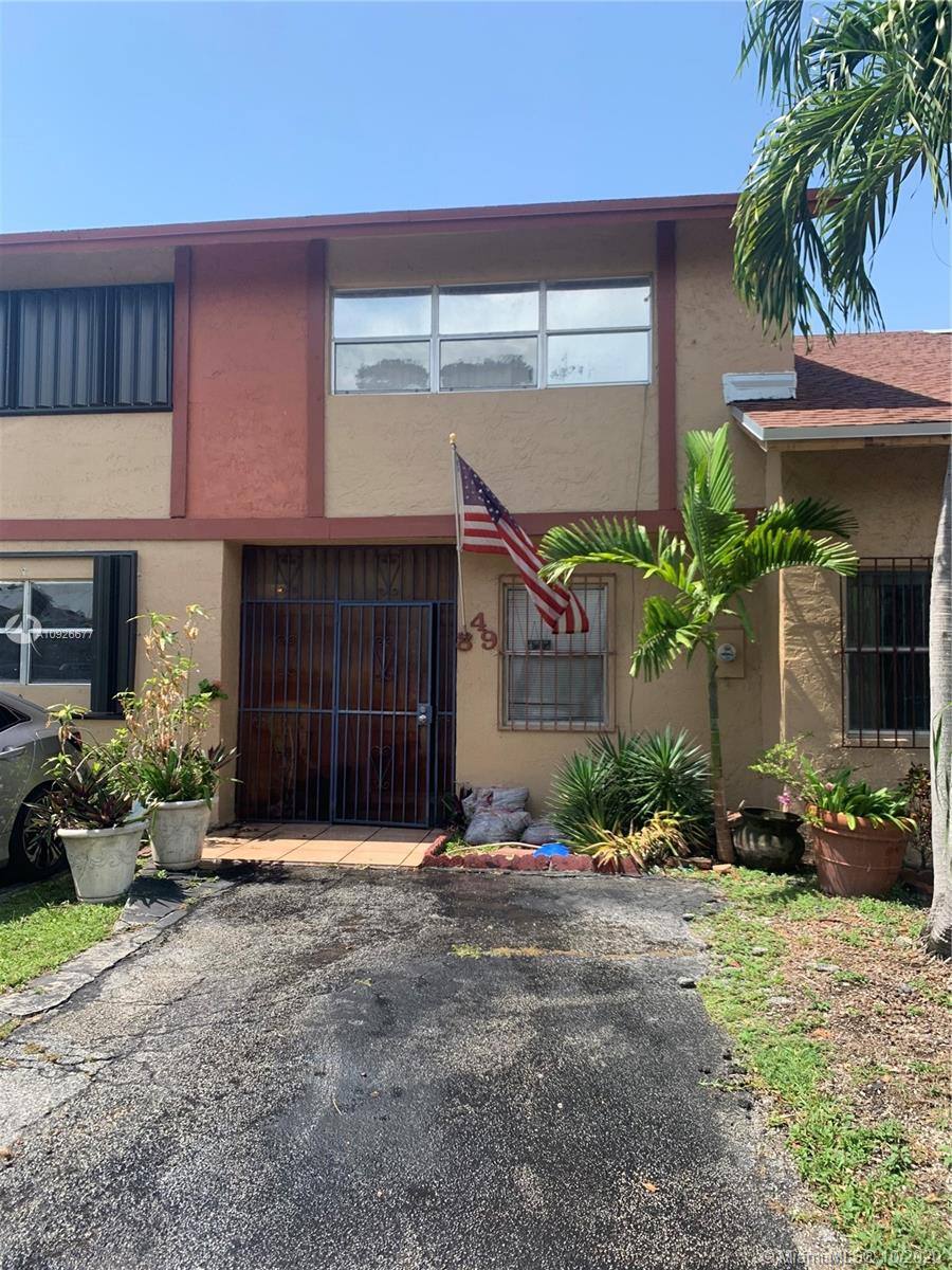 Spacious 3 bedroom townhouse in the heart of Hialeah! Upgraded kitchen complete with real wood custom cabinetry, granite counters and stainless steel appliances. Tiled throughout, large indoor laundry room, tons of closet space and private patio. New roof is coming soon! Plus fresh paint, new 3.5 ton Rudd a/c, new HE water heater and much more!