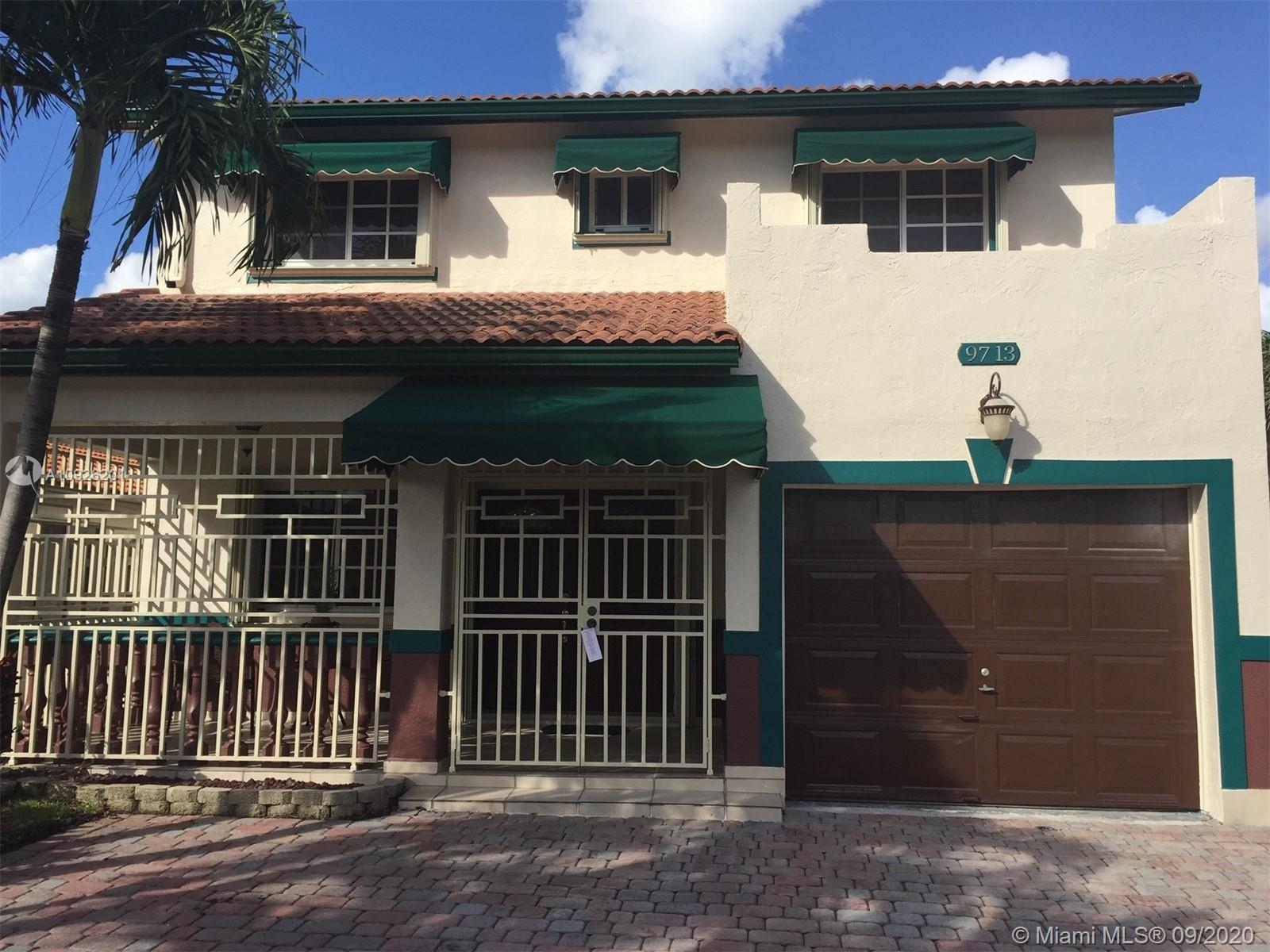 9713 NW 122nd Ter  For Sale A10926201, FL