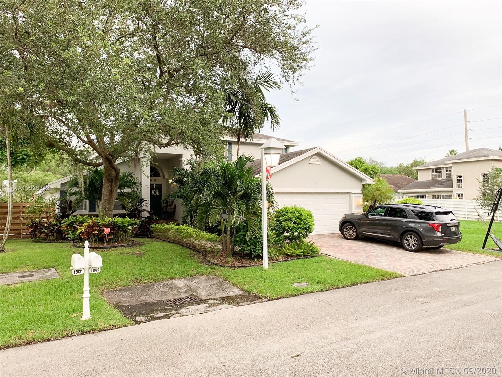 15027 SW 139th Ave  For Sale A10926842, FL