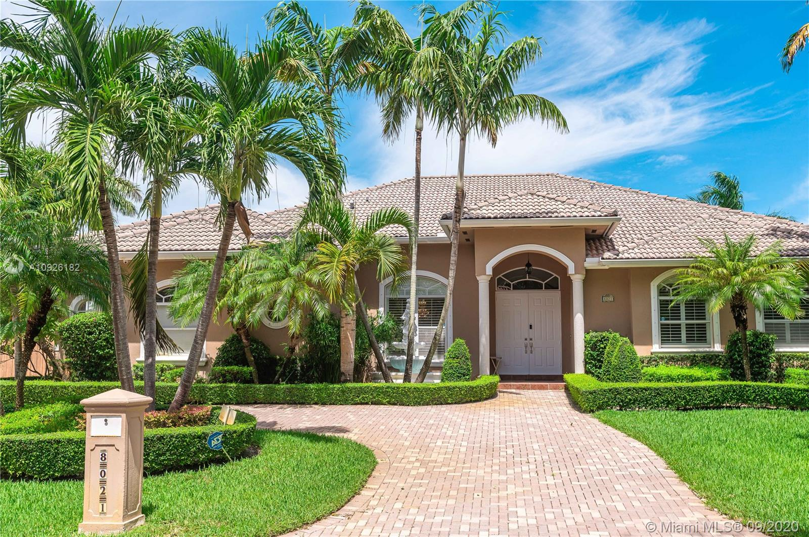 8021 SW 179th St  For Sale A10926182, FL