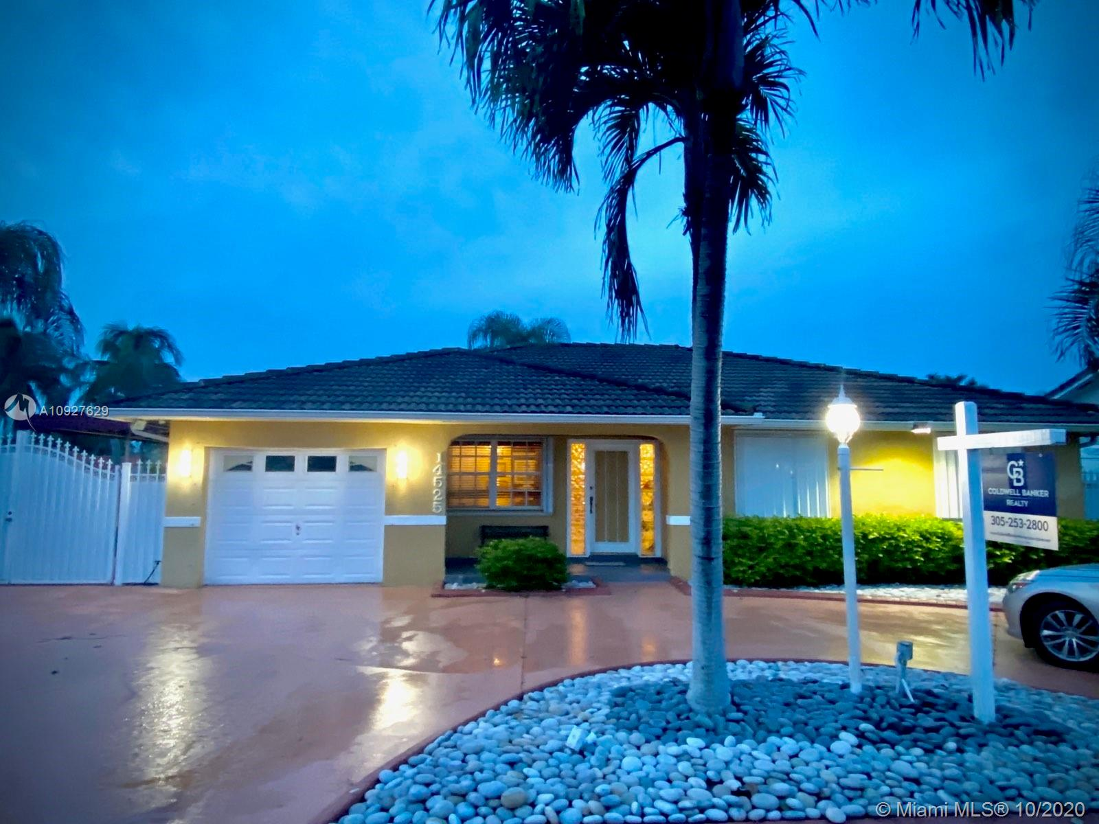 14525 SW 156th Ter  For Sale A10927629, FL