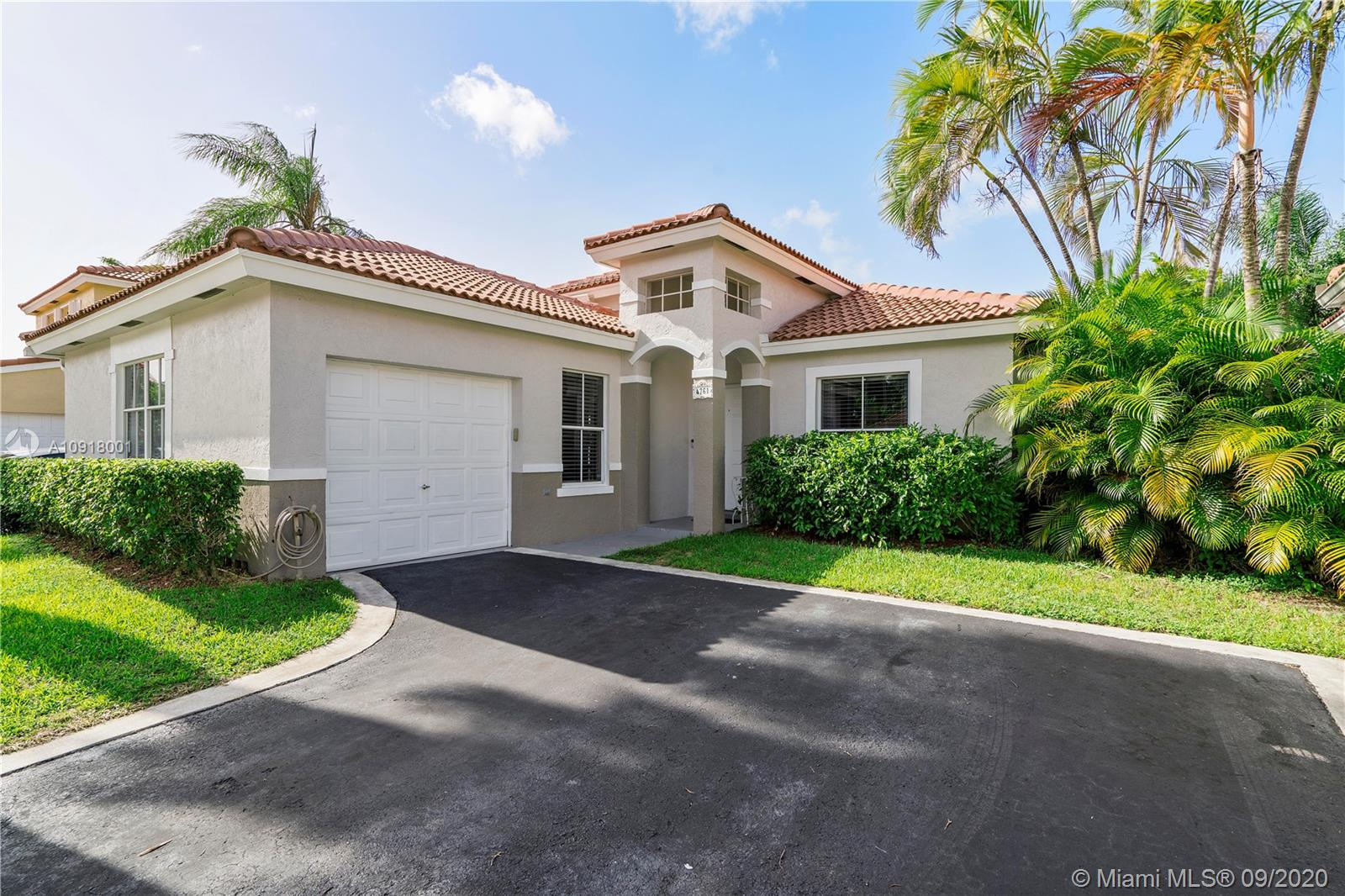 Beautifully Upgraded 3 Bed, 2 Bath Home W/1 Car Garage On An Oversized Fenced Lot In Coco Palms Of Coconut Creek. Open Custom Kitchen Features Granite Countertops, Tile Backsplash, Newer Appliances, Wood Cabinets, Recessed Lighting, & Pantry. This Home Has Volume Ceilings, Living Room, Large Dining Area, Crown Molding & Wood-like Tile Flooring Throughout. Large Master Suite With Tray Ceiling & Natural Lighting. Master Bath Has Large Custom Wood Vanity, Granite Countertop, Large Tiled Shower W/Stone Floor, Recessed Lighting, & Walk-In Closet. Upgraded Hall Bath Has Wood Vanity, Granite Countertop, Custom Mirror, & Rustic Tile Shower. Front Loading Washer & Dryer. Upgraded Baseboards. Large Private Landscaped Fenced Yard, Open Patio With Pavers & Room For Pool. Low HOA Only $66. A True GEM!