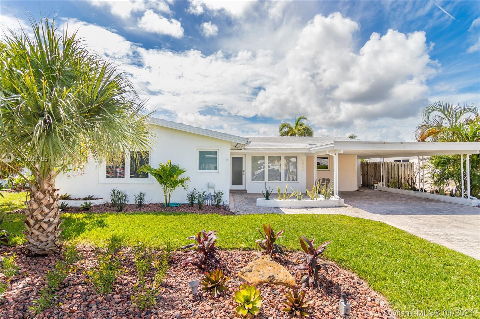 Completely updated 3/2 waterfront home in the sought after East Wilton Manors neighborhood. This amazing home features a deepwater private dock with ocean access, heated pool and hot tub, hurricane impact windows and doors throughout, new gorgeous modern kitchen with stainless steel appliances, stone counters, electric blinds, 2 car carport, laundry room, three spacious bedrooms, plenty of storage and more! Located at just a quick drive to everything Wilton Manors has to offer including Wilton Drive, Restaurants, shops, grocery stores, US1 and the beach! Perfect as a vacation home, full time residence or vacation rental!
