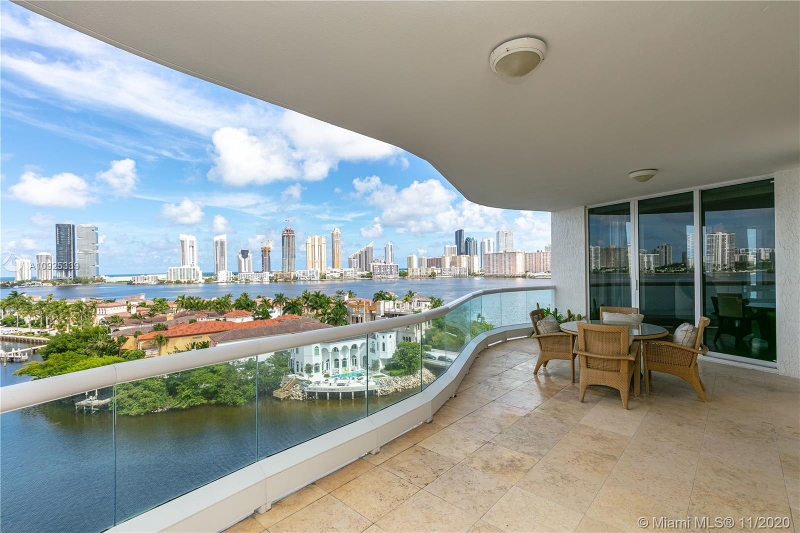 Spacious condo w/ stunning intracoastal & ocean views in the exclusive Bellamare! An expansive east-west, flow through luxury residence in prestigious Williams Island. Walk off your private elevator to be greeted by a foyer entrance, stepping onto hardwood floors & look out to sweeping views of the intracoastal & Sunny Isles beach. Unit boasts custom Venetian plastered walls, a room converted to an additional closet, and an up-lit countertop bar for the ideal entertaining experience. Kitchen features granite countertops, ss appliances, brand new hood, cappuccino machine & gas stove! Pamper yourself w/ world class amenities, comfort & conveniences that only a 5-star resort style condo offers! Enjoy the Williams Island spa, restaurants, tennis club, jogging path, marina + much more!