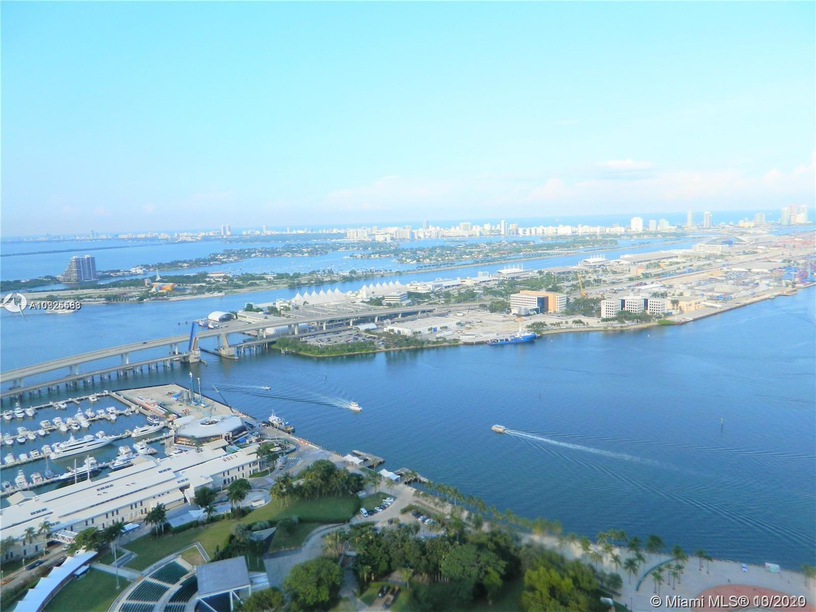 Beautiful 3 bed 2 baths with amazing water and city views from a large terrace. 