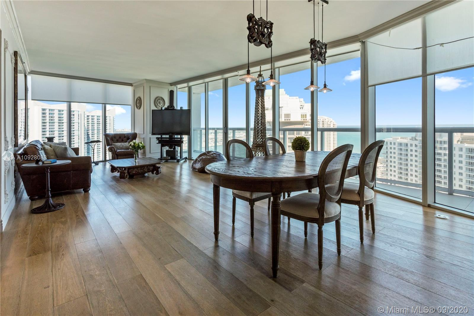 This highly upgraded 3/2.5 unit in the hip and luxurious Icon Brickell T1 designed by Philippe Stark feels more like a home than a condo. The 01-line is the largest and most desirable layout in the complex with gorgeous water views. This light filled corner unit features highest quality real wood floors, new doors, new laundry appliances, built-out closets, smart home gadgets and more. The building offers incredible amenities usually associated with a 5-star resort. It's surrounded by 2 parks, Biscayne Bay and Brickell Av, hosting 2 high-end restaurants - Cipriani and Cantina La Veinte. Located in the heart of the financial district, Icon Brickell is only 5-10 min walk to Brickell City Center, Whole Foods, Publix, restaurants, movie theaters and other entertainment venues. Also for rent.