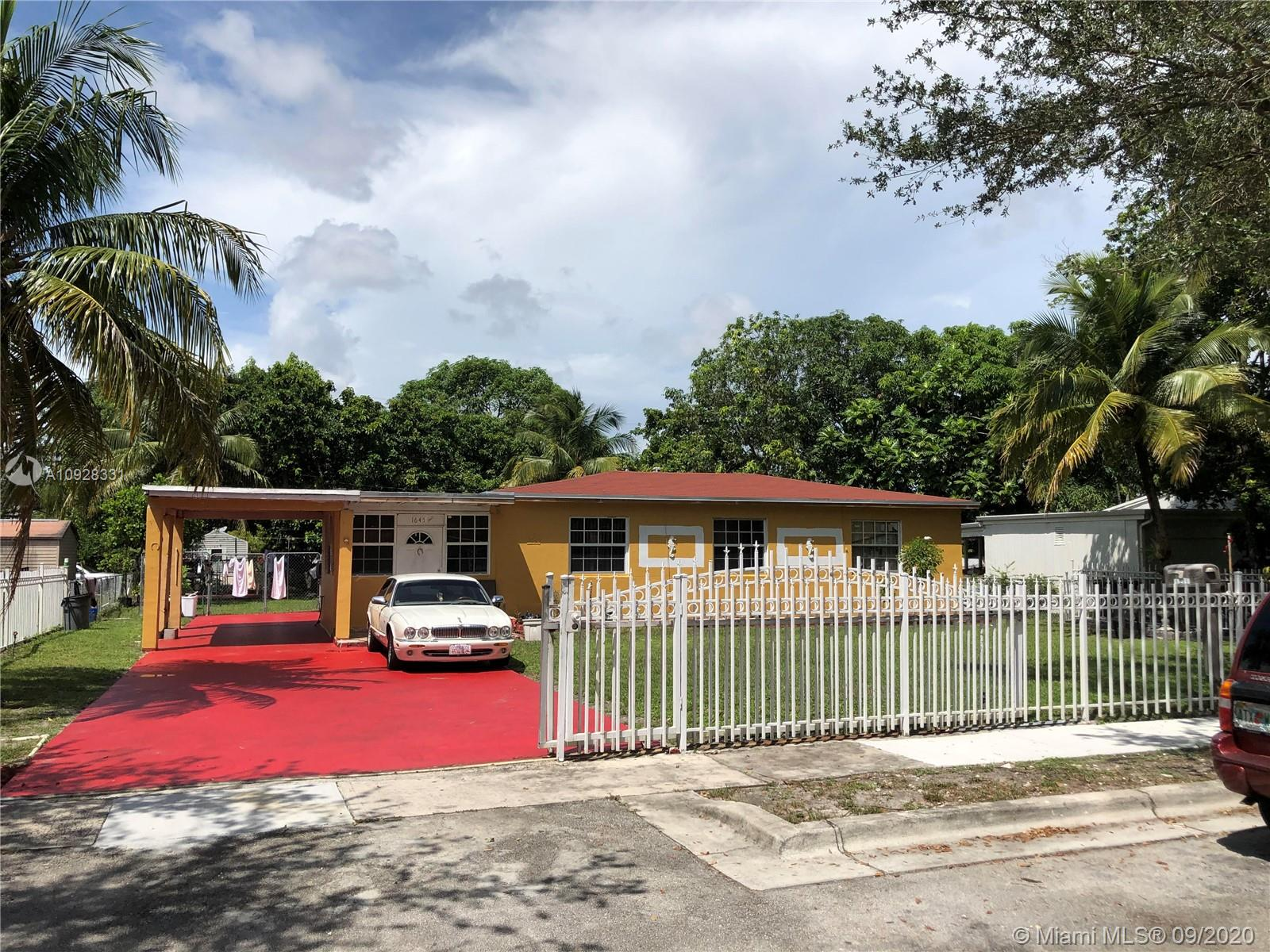 1645 NW 130th St  For Sale A10928331, FL