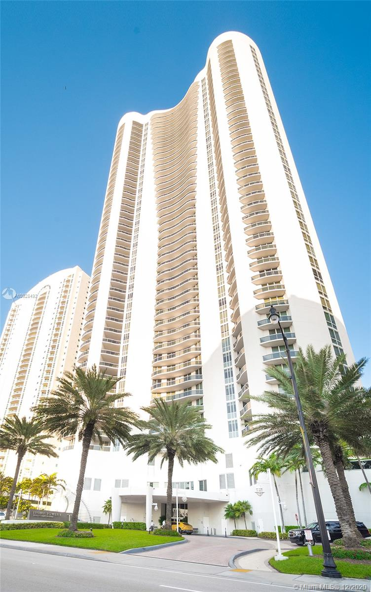 Enjoy wonderful and direct ocean views from this bright 3 bedroom 3.5 baths residence in Trump I . This building sits on 250 feet of white sand Atlantic Ocean frontage in Sunny Isles Beach. The condo offers top of the line finishes, 11' clear ceilings & over sized balcony with spectacular unobstructed panoramic views. Just bring your toothbrush!  It offers an array of amenities including 24 hour concierge, valet, state of the art fitness center, health spa, heated pools and most important an excellent beachfront restaurant with delivery service.