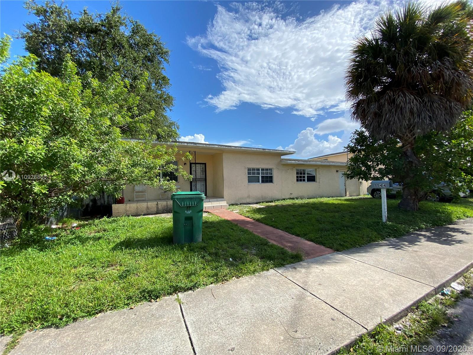 1144 NW 63rd St  For Sale A10928860, FL