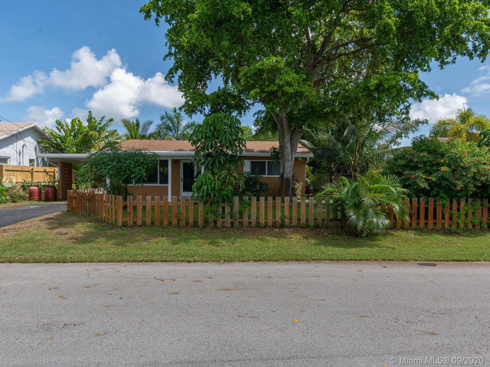 Located in the heart of Oakland Park one block from downtown. Home has impact windows. Well maintained and close to everything.