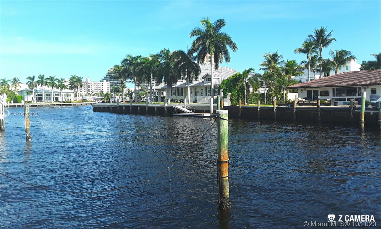"* BEST LOCATION IN ALL ""CORAL RIDGE"" *  POSITIONED 1 OFF THE POINT WITH  DIRECT INTRACOASTAL VIEWS AND SOUTHEAST BACKYARD EXPOSURE. THIS PROPERTY HAS 100 FT OF DEEPWATER WITH NO FIXED BRIDGES AND A NEWER SEAWALL... ($100,000 SAVINGS FOR NEW OWNER). SUPER WIDE CANAL (115 FT) ALLOWS FOR MORE PRIVACY AND WIDE WATER VIEWS. DOLPHIN PILES/100 AMP ELECTRICAL SERVICE IS ALREADY IN PLACE TO HELP ACCOMODATE A LARGE YACHT. THIS HOME IS ALSO LOCATED IN THE VERY SOUGHT AFTER ""BAYVIEW SCHOOL"" DISTRICT. 10,000 SQ FT LOT WITH GOOD ELEVATION...READY FOR NEW CONSTRUCTION! LOTS LIKE THIS RARELY COME ON THE MARKET! BUILD YOUR DREAM HOME IN ONE OF FORT LAUDERDALES'S  FAVORITE SUBDIVISIONS. VERY CLOSE PROXIMITY TO PARKS, RESTAURANTS AND LOCAL SHOPS! INTERNATIONAL AIRPORT IS ONLY 20 MINUTES AWAY! EASY TO SHOW!"