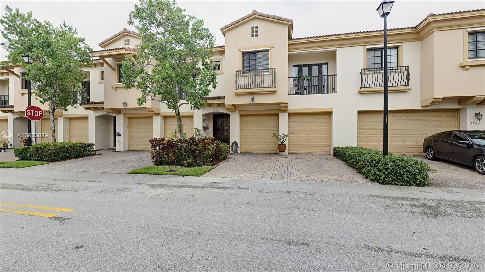 Beautiful Bright & Spacious 3BR/2.5BA/2CG Townhome in Grand Cypress, Coconut Creek! Excellent location. Home Features: Updated Kitchen with S/S Appliances, Granite Counters, Wood Cabinets, plenty of counter space with a large breakfast bar. Tile throughout the first floor. Máster Suite has his and her walk-in closets, dual vanities, shower, and separate roman tub. 3 large bedrooms, guest bath & Laundry on 2nd Fl. Hurricane Shutters. surrounded by  green areas and guest parking. Low HOA Fees! Comm Pool & Tot Lot, great schools, near major highways and shopping. Perfect for families, pet lovers and investors. The property can be rented right away.
