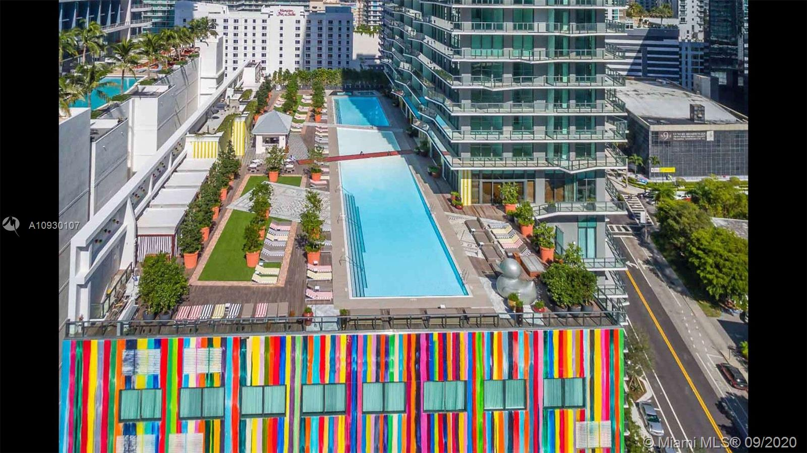 Amazing 3 Bed with 270 degrees view unit at ICON BAY located in the heart of BRICKELL just south of Downtown MIAMI. Unit features a floor plan with open kitchen with European cabinetry, IMPORTED PORCELAIN TITLE, CUSTOM BUILT CLOSETS, 2.5 bathrooms and 1 assigned parking space. The building offers RESORT AMENITIES that includes Gym, Pool, Party Room, Lounge area, Spa. EASY TO SHOW.