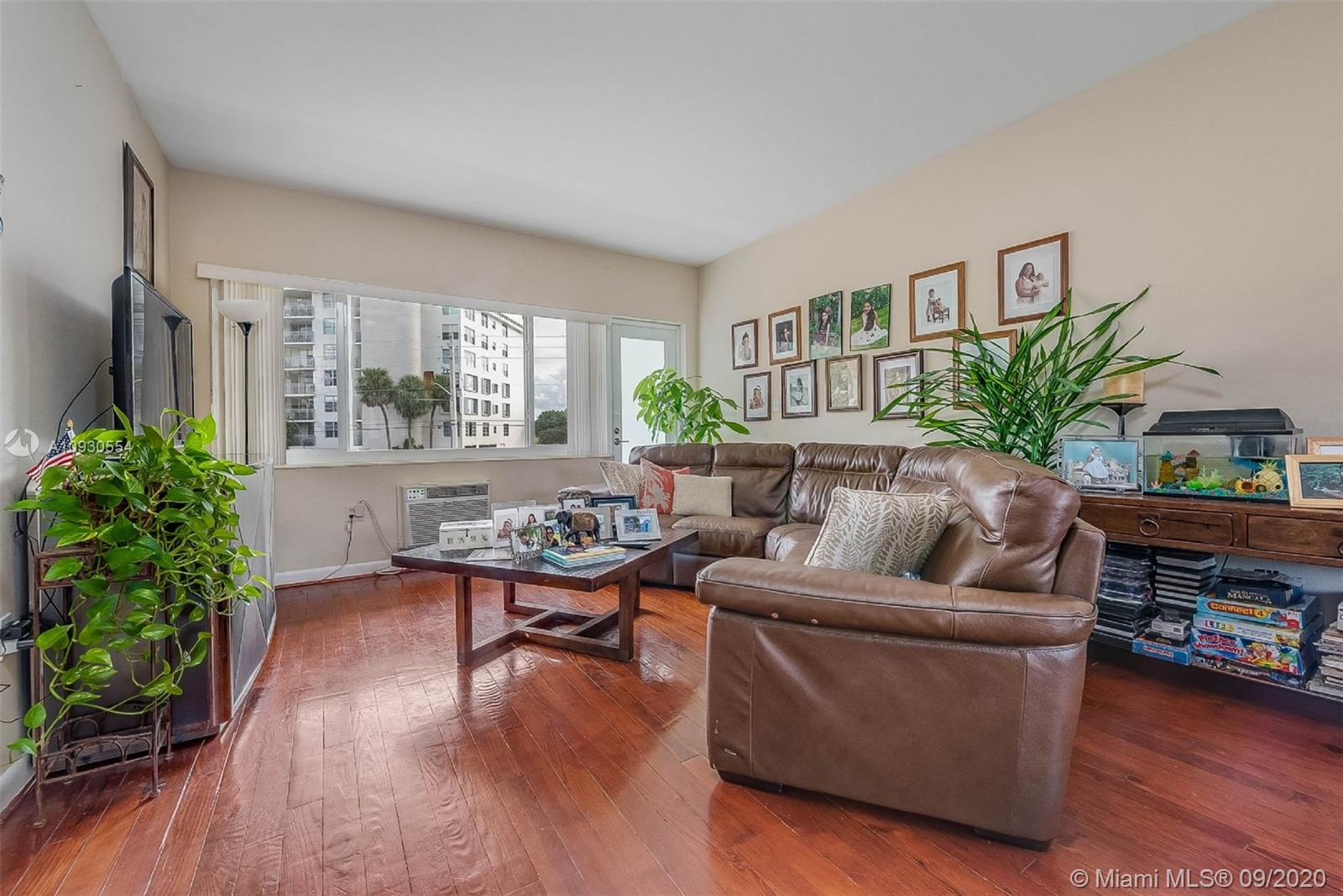 Great 1/1 Apartment in bay harbor. Low maintenance $371. Two assigned parking. Impact windows and doors. Recently remodeled with new kitchen, appliances, AC and bathroom. Apartment has plenty of storage, two walking closets and one lining closet. Walking distance to top A+ K8 school, Bal Harbor shops, beaches, beautiful parks, restaurants .Share Storage room (for bike or other non-flammables).laundry on site. Maintenance fee includes water, garbage, Insurance, common areas. Pets are allowed.
