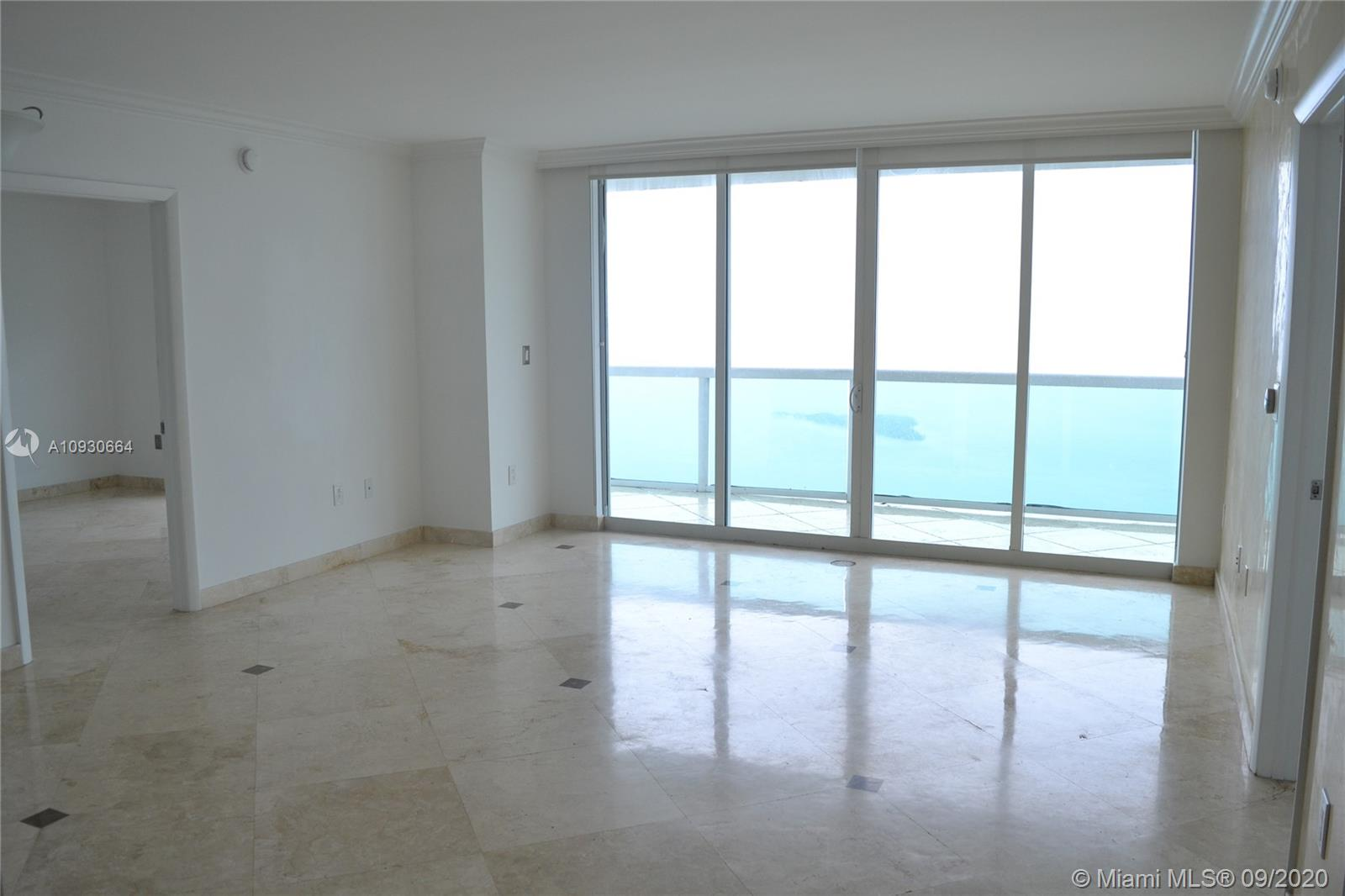 EVEN ON RAINY DAYS THESE VIEWS ARE MAJESTIC! Enjoy amazing panoramic views of Biscayne Bay from this gorgeous apartment in the sky! This 2 bedroom / 2 bathroom split plan apartment has been upgraded to feature marble floors throughout the bedrooms and living areas, new front loading washer/dryer, the kitchen overlooks the dining area with granite counter tops and top of the line stainless steel appliances. Beautiful pet friendly park in front of the building features a dog area, work out stations, tennis, volleyball and much more. And once again, the views from the 41st floor are simply breathtaking. Looking to rent at the prestigious 1800 Club Building? Then look no further!