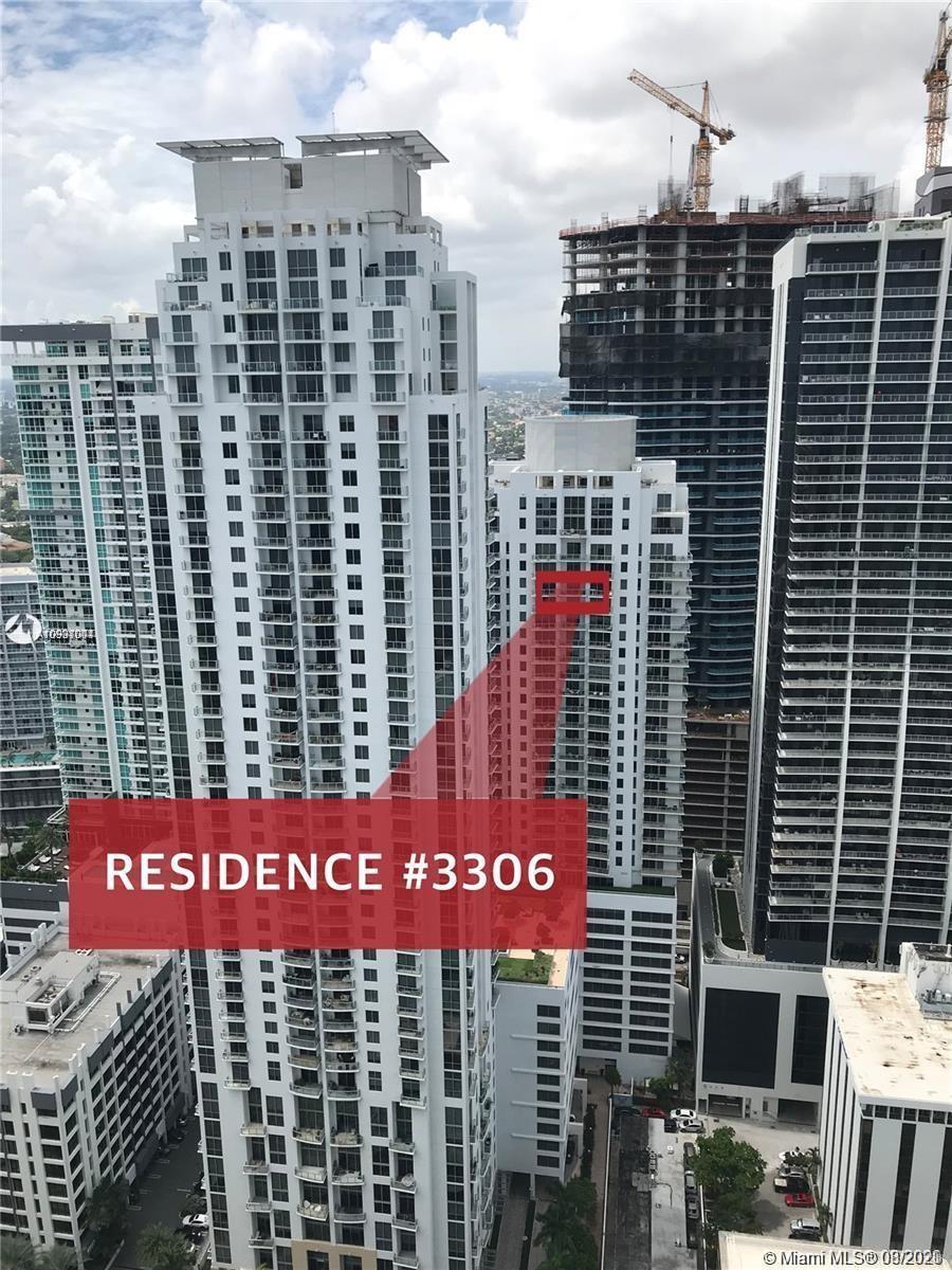 1050  Brickell Avenue #3306 For Sale A10931001, FL