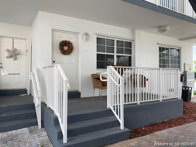 One of a kind large 2 bed/2 baths corner unit on the first floor across from the police station in the prestigious and safe neighborhood of Bay harbor islands. Completely remodeled kitchen and baths with granite counter tops and brand new stainless steel appliances.Jacuzzi tub in master bath and walk-in closet,Washer/Dryer inside unit,Polished hardwood floors,central A/C and updated lighting. Walking distance to A+ rated Ruth K Broad Bay Harbor K-8 school.beaches, restaurants & Bal Harbor shops . Internet service included through the condo association.Well-maintained and pet friendly building.Rented for $1,950 until Jan.15 2021.Seller paid special asessments in full.Great deal will not last.